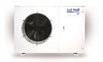 front of a ventilation unit on a white background.